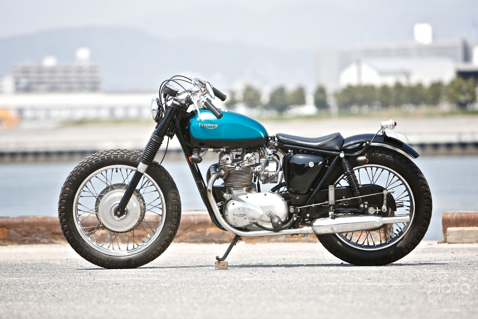 Today's feature build a Triumph T100 custom is a shining example of Heiwa's genius execution on a classic bike. Taking classic motorcycles and putting a custom spin to it is something Heiwa Motorcycles does on a daily basis.