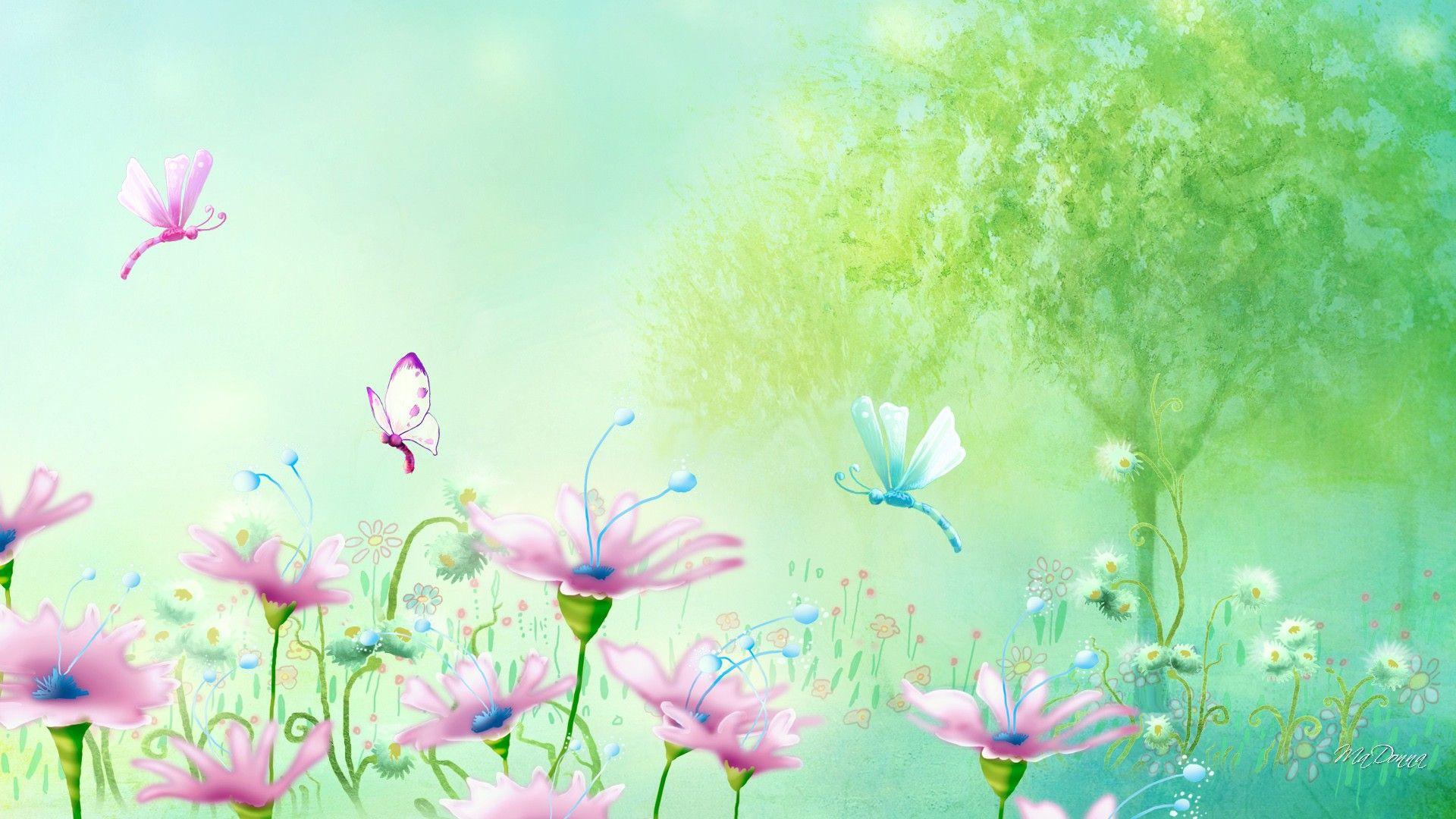Springtime Backgrounds Desktop - WallpaperSafari