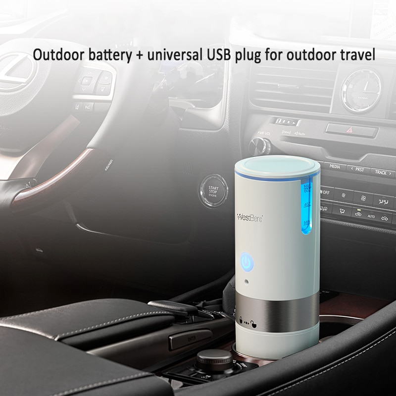 American Portable Kcup Capsule Coffee Machine USB Car