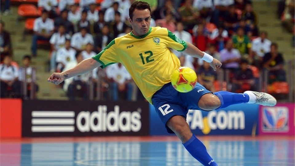 Bangkok Thailand November 14 Falcao Of Brazil Shoots On Goal During The Fifa Futsal World Cup Quarter Final Match Between Falcao Soccer Skills Best Player