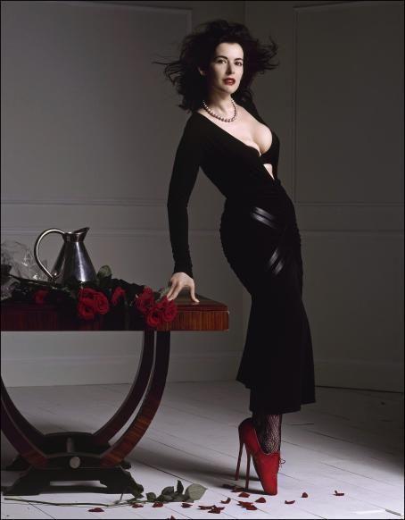 Nigella Lawson Wearing Some Serious Heels.