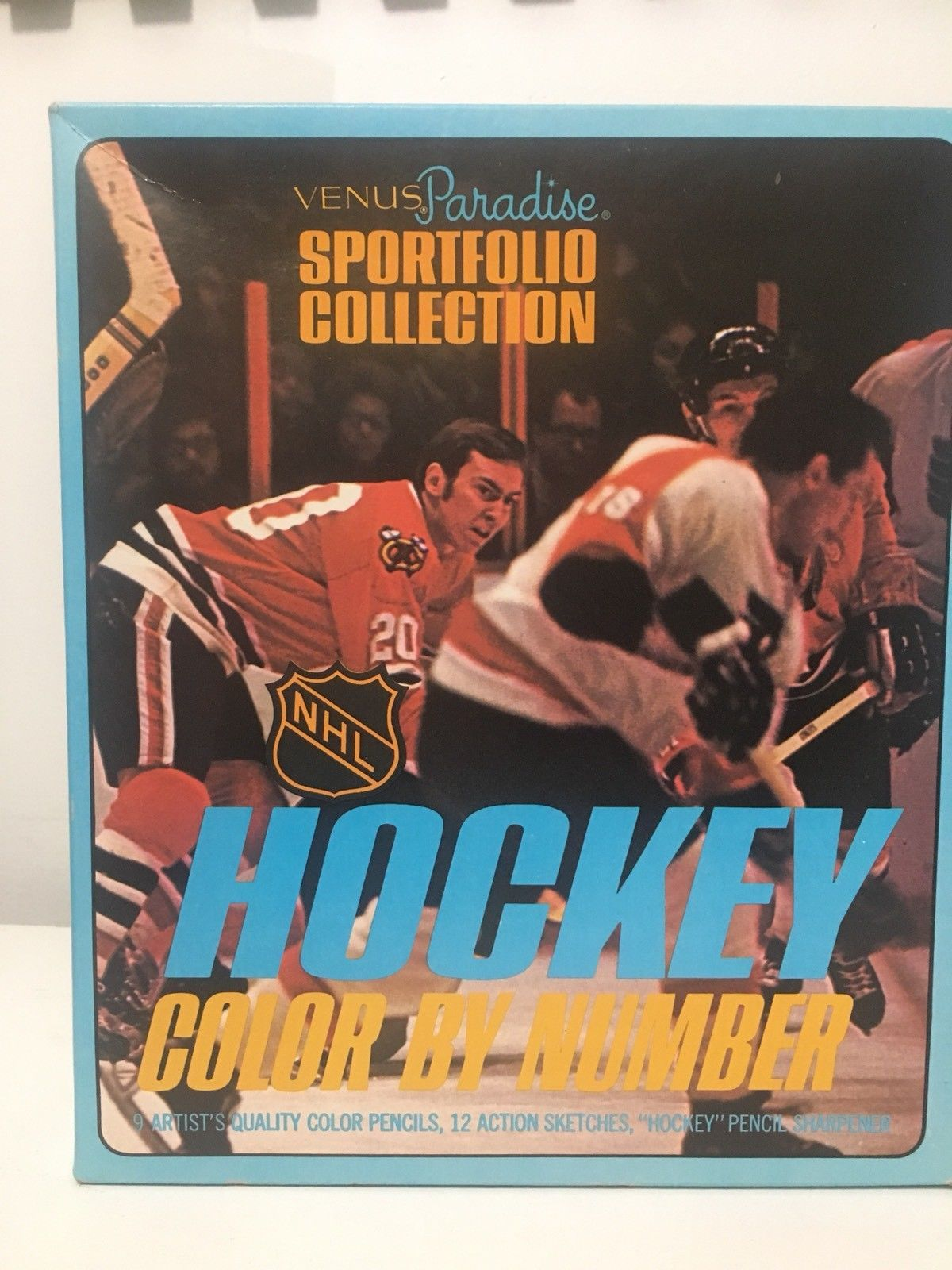 Vintage VENUS PARADISE Color By Number Hockey Sports Set ...