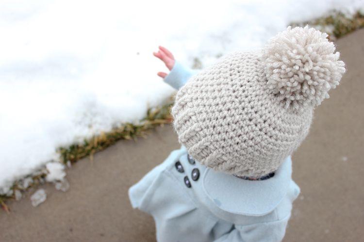 Punto acanalado Beanie - Patrón Gratuito - creación delia | crochet ...