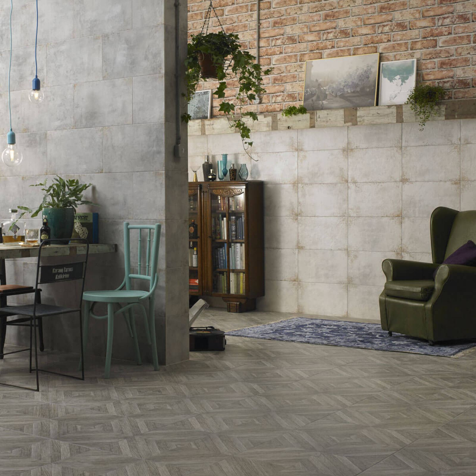 A steel grey 298x498mm ceramic wall and floor tile with an added a steel grey 298x498mm ceramic wall and floor tile with an added subtle rust effect the addition fine granules in the surface of the hd galvanised tiles dailygadgetfo Choice Image