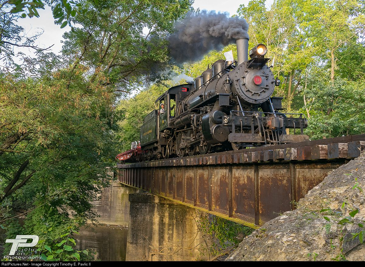 Ev 11 Everett Railroad Steam 2 6 0 At East Freedom Pennsylvania By Timothy E Pavlic Ii Steam Railroad Train
