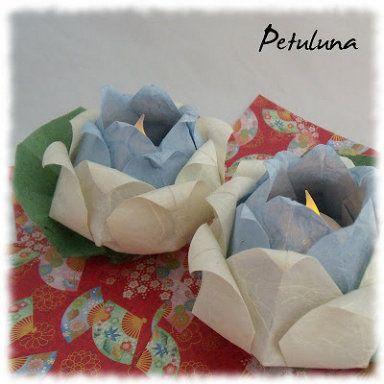 Flores de loto: de todos los materiales y colores