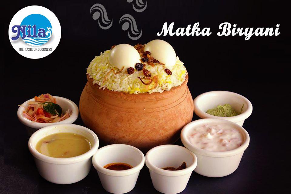 Nila Restaurant Llc Al Qusais Matka Biryani P O Box 231839 64 Damascus Street Dubai United Arab Emirates Www Nilacate Biryani Yummy Food Food