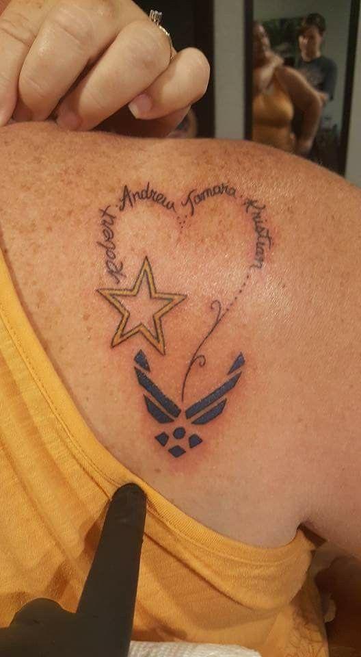 Air Force Mom Tattoo Tattoos Mom Tattoos Air Force Tattoo
