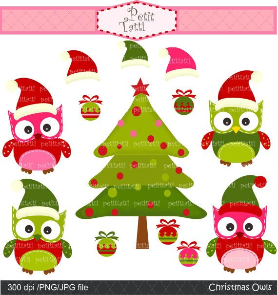 Christmas Clip Art Digital Clip Art For All By Petittatti 4 80 Christmas Clipart Digital Clip Art Scrapbook Designs