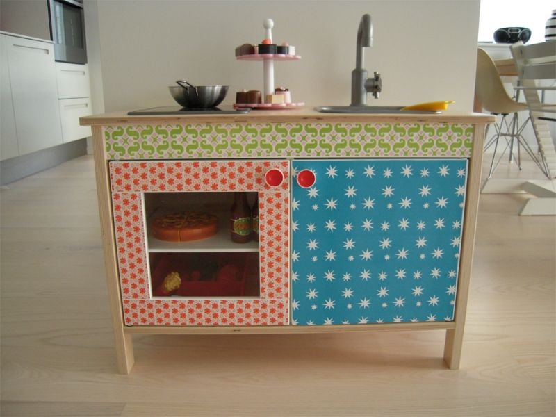Customise your ikea play kitchen