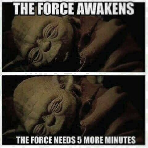 Anakin On Instagram Hahaha So Me This Morning Starwars Theforceawakens Sleepy Coffee Good Mor Funny Star Wars Pictures Star Wars Humor Star Wars Pictures