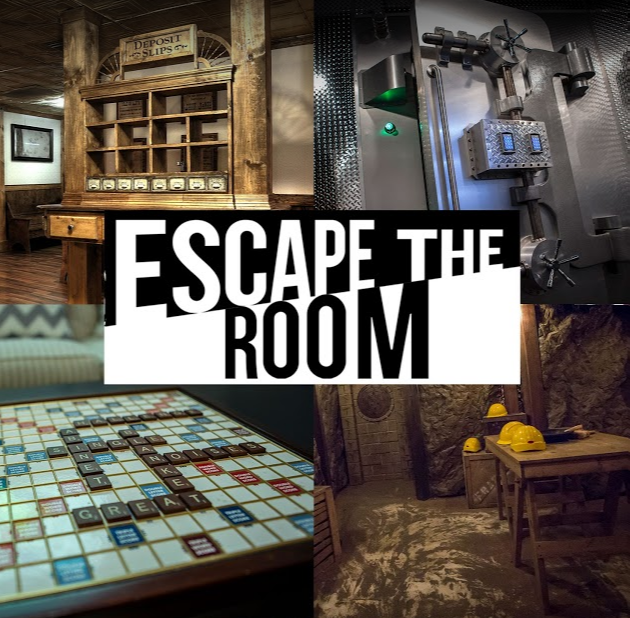 See The Real Life Escape Rooms At Escape The Room Dallas Try To Escape From The Agency The Western Bank Heist The Dig Escape Room Escape Room Puzzles Dallas