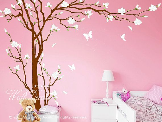 Thinking of doing something like this in the girls' rooms.