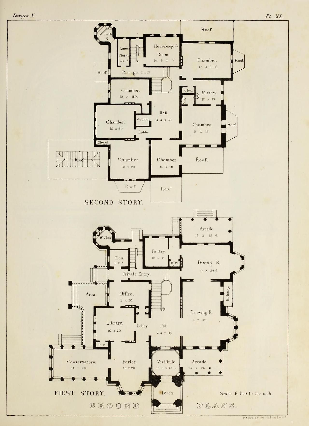 Plans For A Norman Style Villa Mansion Floor Plan House Plans How To Plan