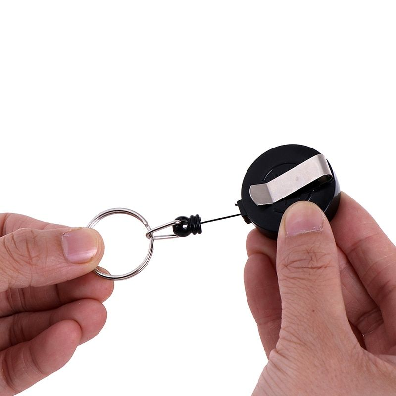 luxury card holder keychain