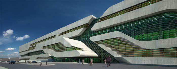 Zaha Hadid - Montpellier