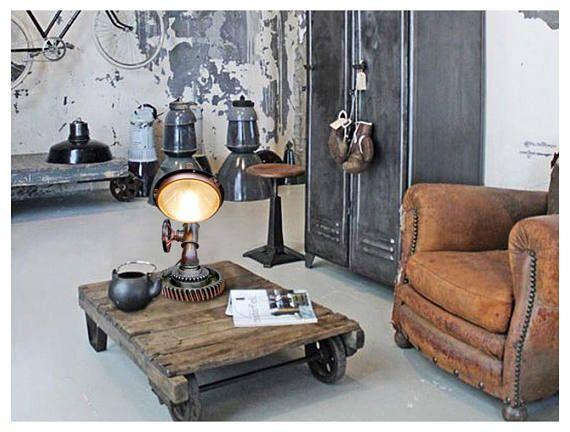 Style industriel lampes steampunk pour vente style industriel