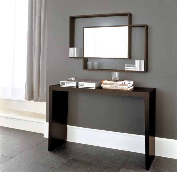 Ingresso moderno con specchio | Arredamento ingresso ...