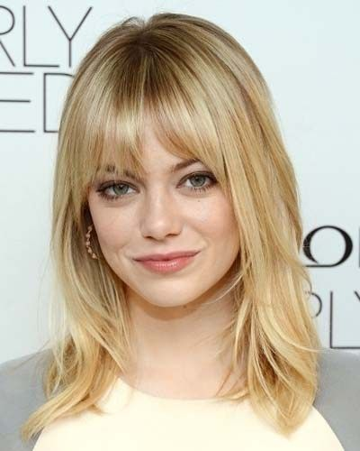 Medium Length Hairstyles For Fine Hair Inspiration Medium Length Layered Hairstyles With Bangs  Beauty Tips