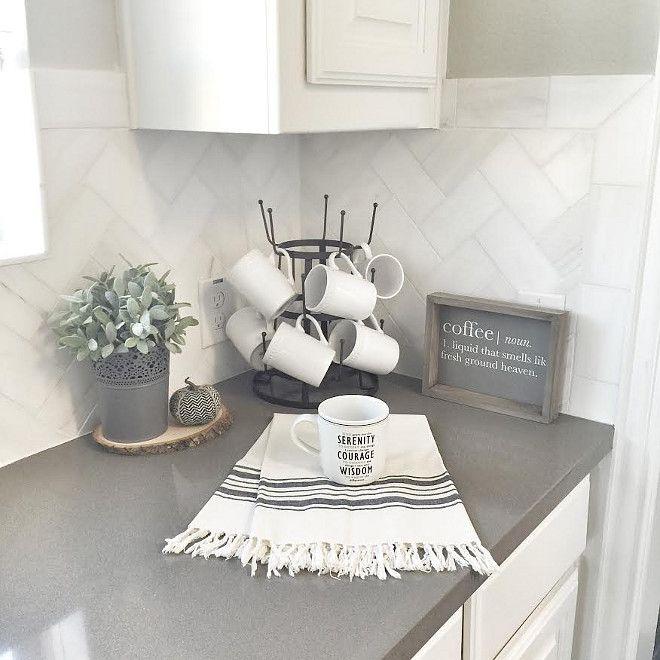 Grey Countertops beautiful homes of instagram   vignettes   pinterest   countertop