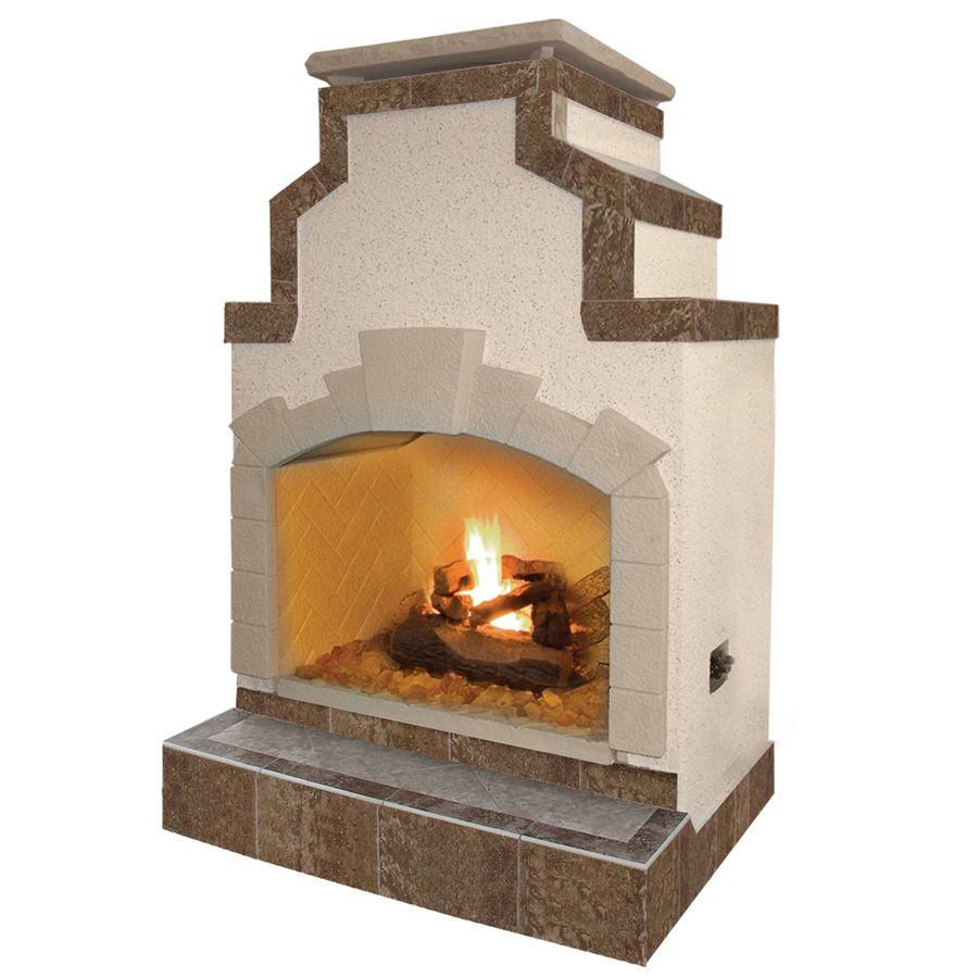 Lowe S 3 700 Shop Cal Flame 55 000 Btu Tan Composite Outdoor