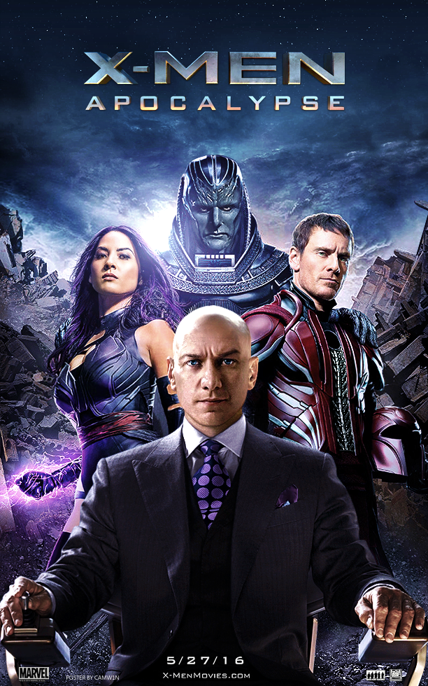X Men Apocalypse 2016 Poster Apocalypse Movies X Men Apocalypse Comic Movies