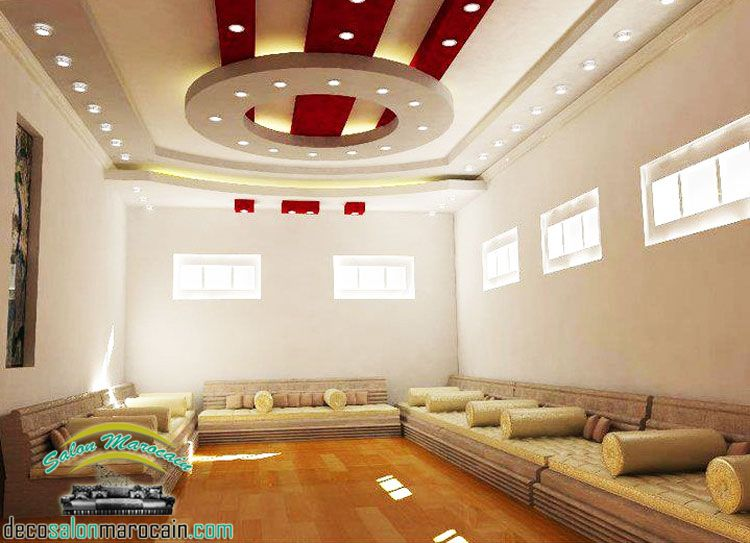 salon marocain traditionnel 2015 interior design en 2019. Black Bedroom Furniture Sets. Home Design Ideas