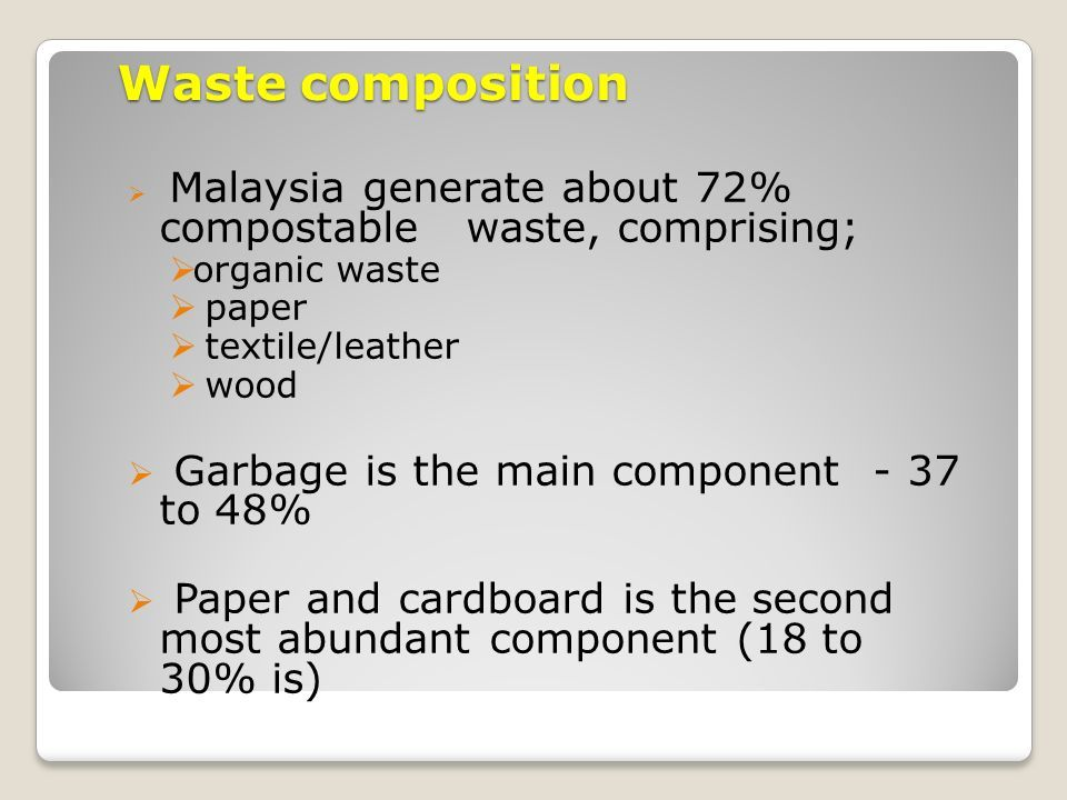 elements of solid waste management ppt before after Pinterest
