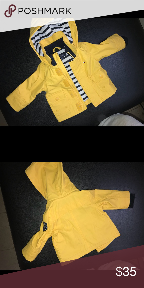 TH baby boy rain coat 3-6 Tommy Hilfiger rain coat for boys! Stylish and  keeps them completely dry! Tommy Hilfiger Jackets   Coats Raincoats 05091f74584e8