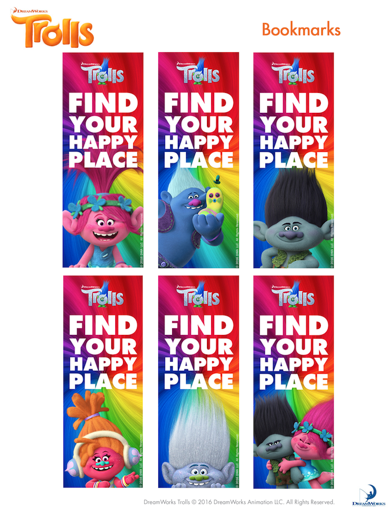 FREE Trolls Party Ideas & Printables - Find your happy ...