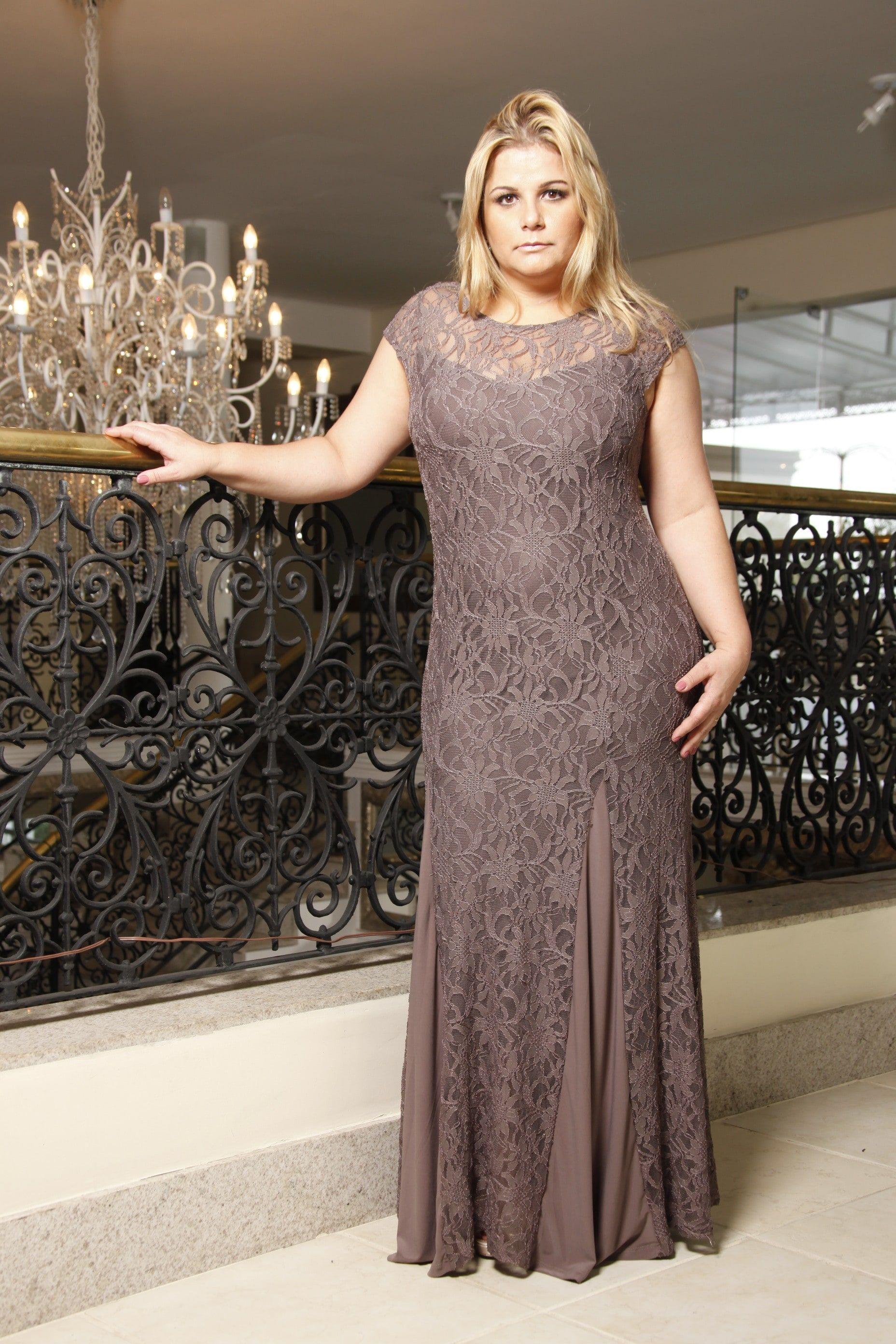 597540211ca2 Vestido Para Mãe da Noiva Com Renda Cores | Prom dresses | Vestidos ...