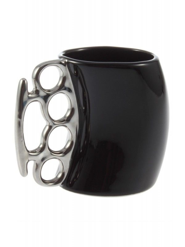 Fisticup Knuckle Mug Black By Rebel Circus