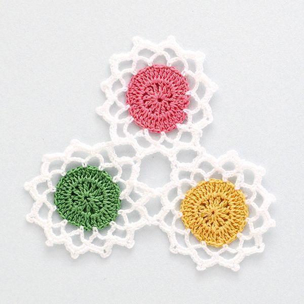 How to make crochet coasters | Crochet flowers pattern, thanks so ...