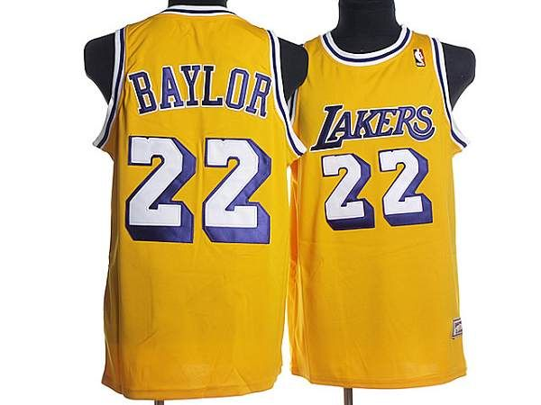 e0c7422315c Mitchell and Ness Lakers  22 Elgin Baylor Stitched Yellow Throwback NBA  Jersey