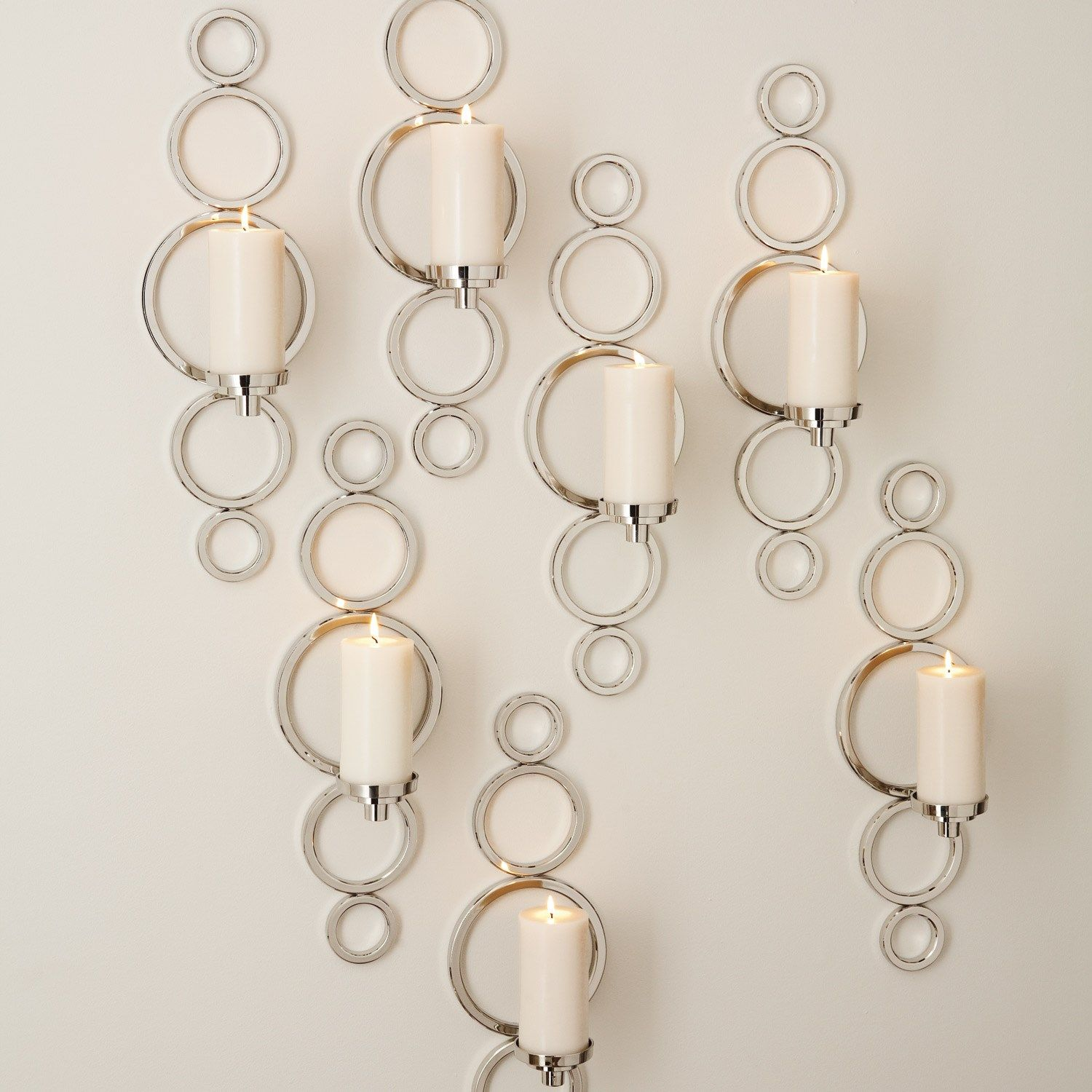 Global Views Progressive Ring Sconce