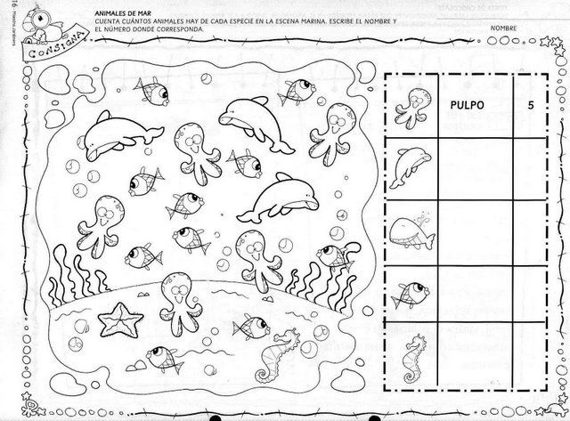 Los duendes y hadas de Ludi: Proyecto El Acuario ( Parte 1) | El mar ...