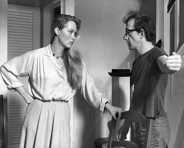 Image result for manhattan movie streep and allen