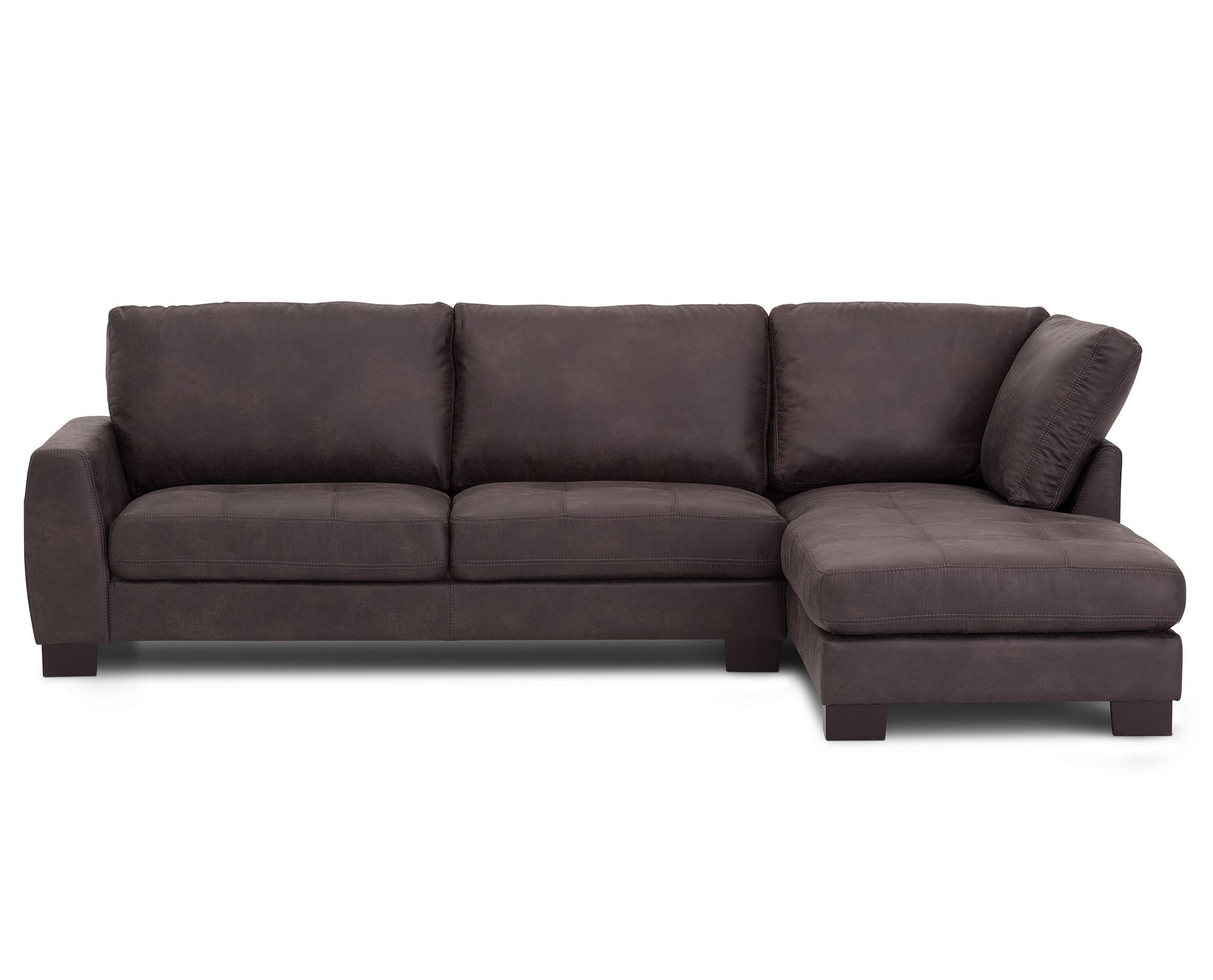 Apartment Sectional Polaris 2 Pc Chaise Sectional Living Room Sectional Furniture