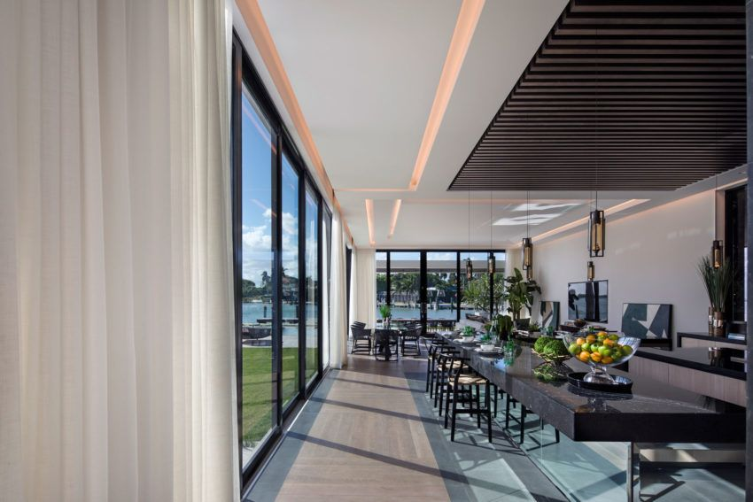 Fabulous And Unique Residence In Miami Beach By Kobi Karp Architecture