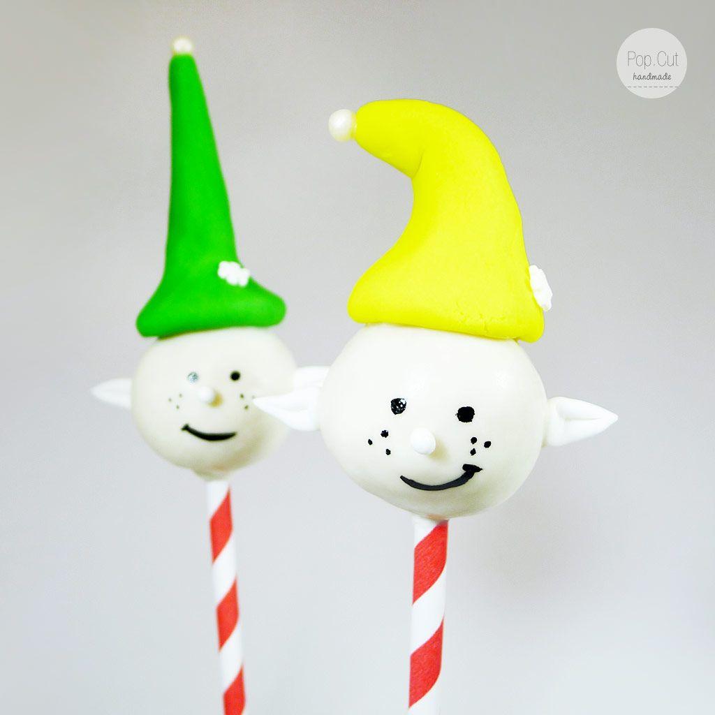 Cake Pop Elfen