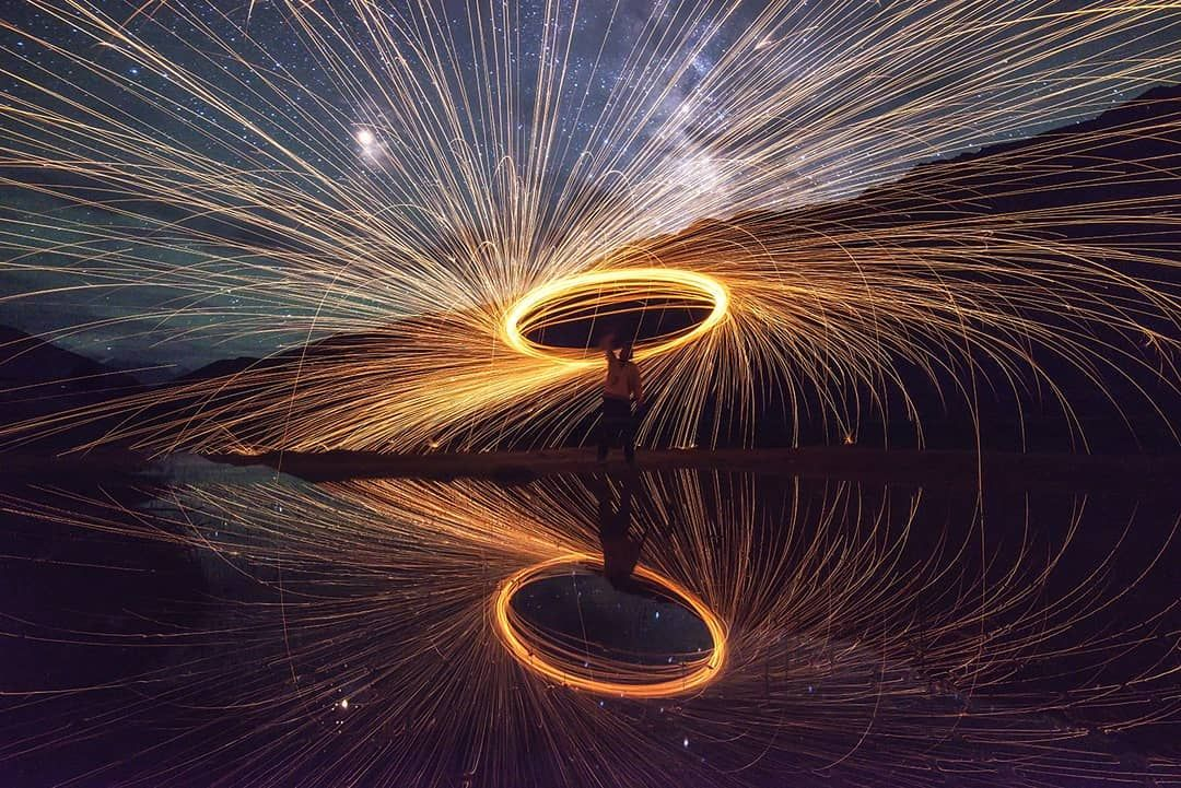 Magical Milkyway and Steel Wool from Himalaya's, Kaza, Spiti