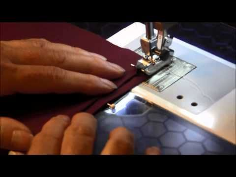 Blind Hem Stitch Using The Sewing Machine YouTube Use For An Delectable Blind Hem Stitch Pants Sewing Machine