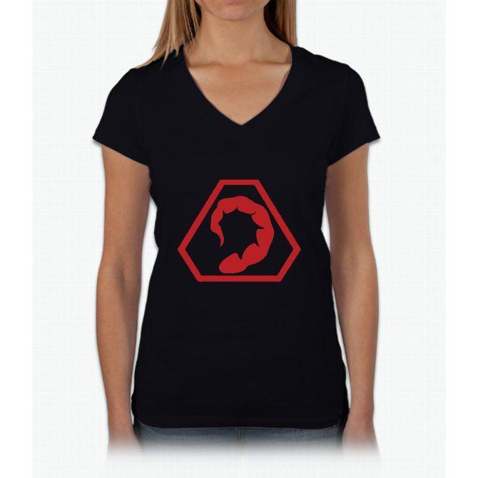 Brotherhood of Nod Womens V-Neck T-Shirt