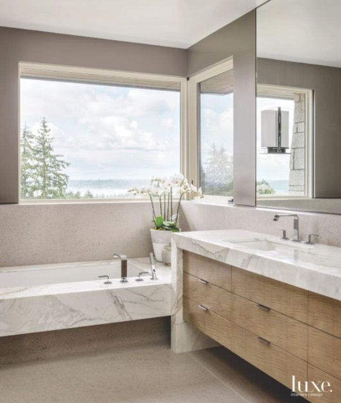 Pin By Designs By Katrina On Baths I Have A Thing For Bathtubs Contemporary Bathroom Designs Contemporary Bathrooms Top Bathroom Design