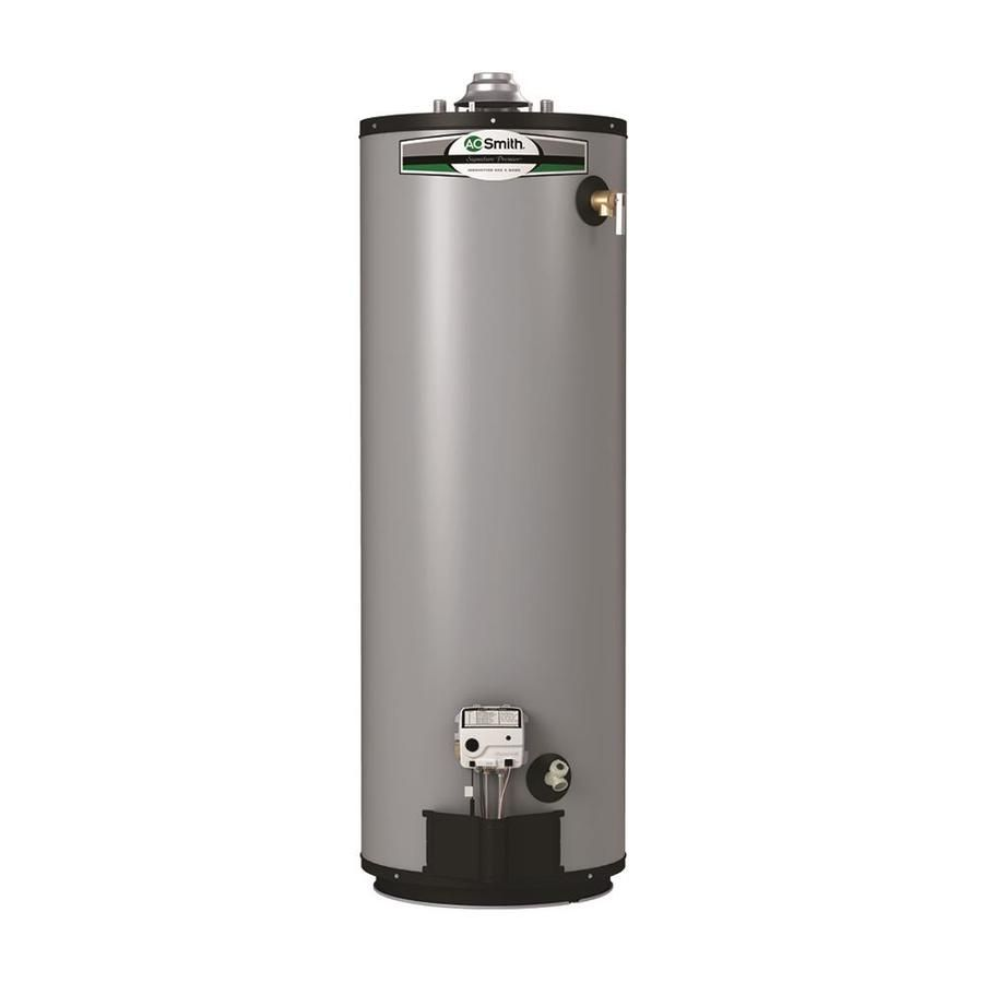 A O Smith Signature Premier 50 Gallon Tall 12 Year Limited