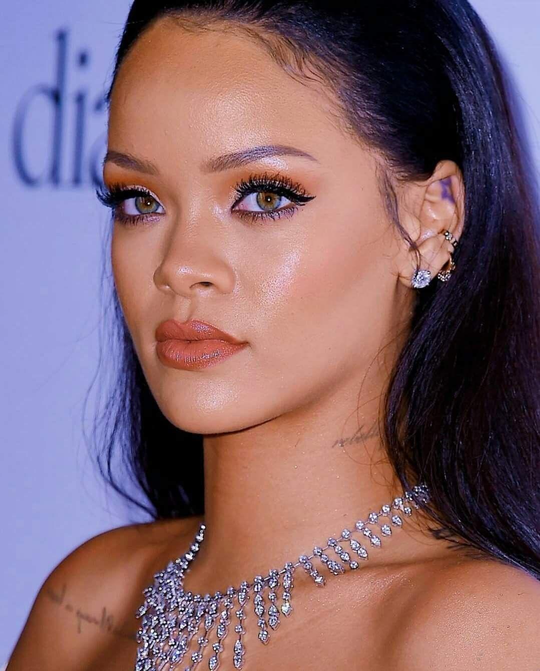 Rihanna Rihanna Makeup Rihanna Face Rihanna Looks