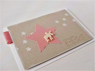 Noch mal Weihnachtskarten in Chili-Savanne-Flüsterweiß........