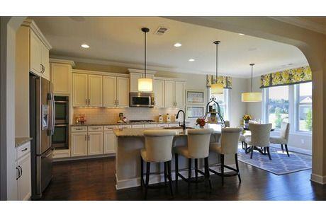 Beautiful open airy kitchen McKinley Plan at Tuscan Gardens in