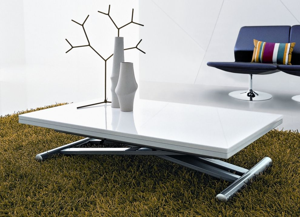 convertible coffee table to dining table | product design