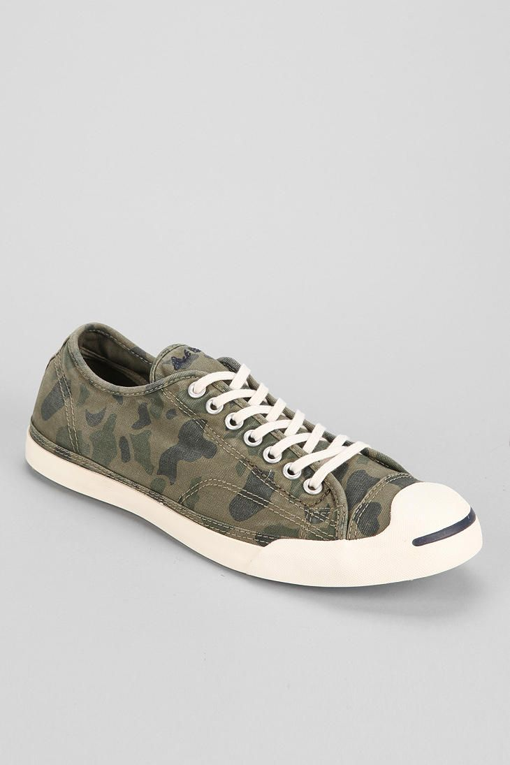 6195e2e09a5c Converse Jack Purcell Camo Slip-On Men s Sneaker